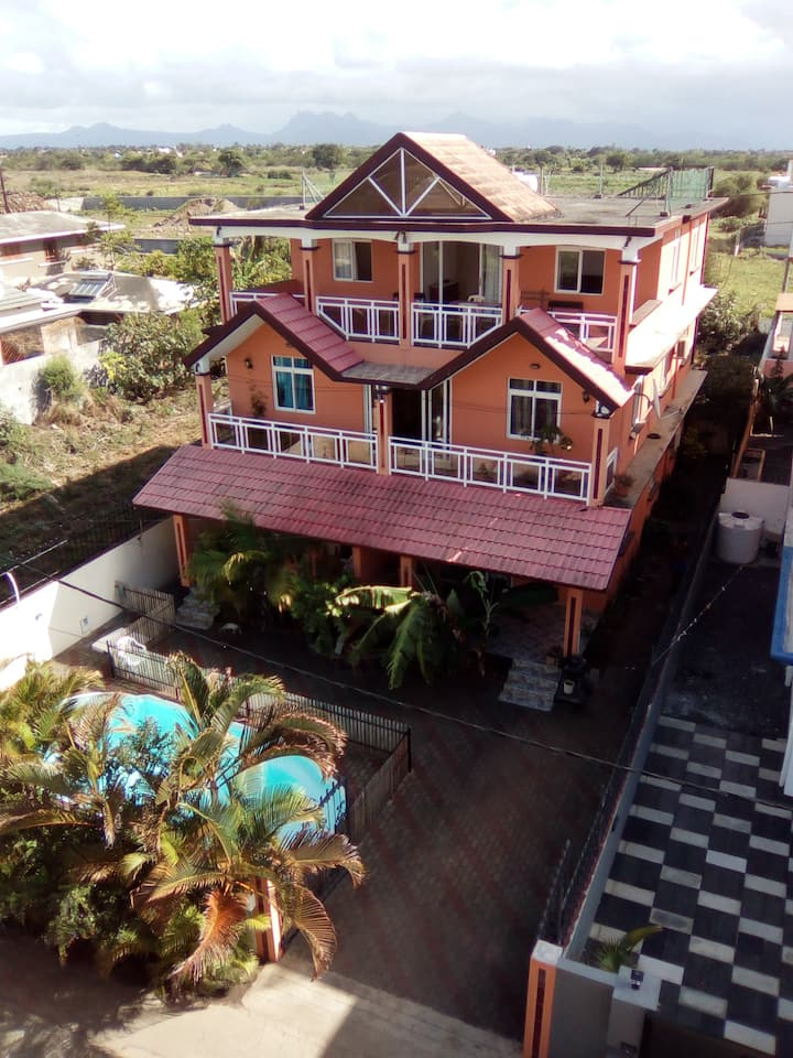 Villa Harmonie Appt F4 de 90m² terrasse 40m²