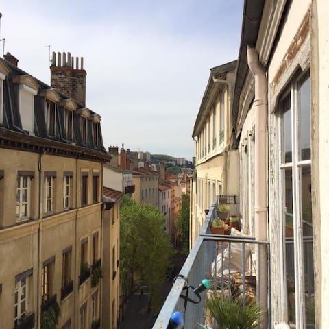Grand soleil au coeur de Lyon - Lyon - Appartement