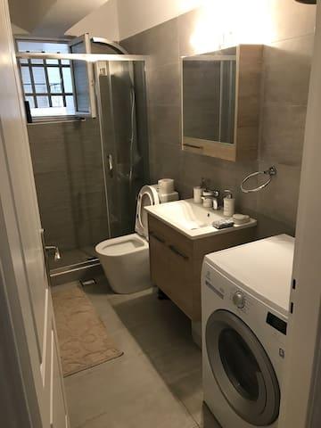 Brand New Washroom  Washer and Dryer Hair Dryer