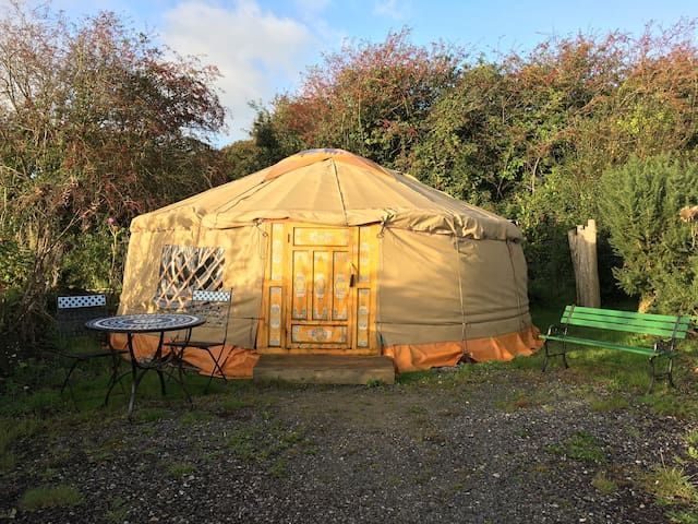 Mongolian Yurt @ Inch Hideaway EcoSustainable Camp