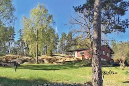 Nice house with a big garden near Stockholm