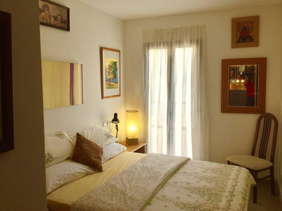 Room No 2 Quiet,  comfortable double room.