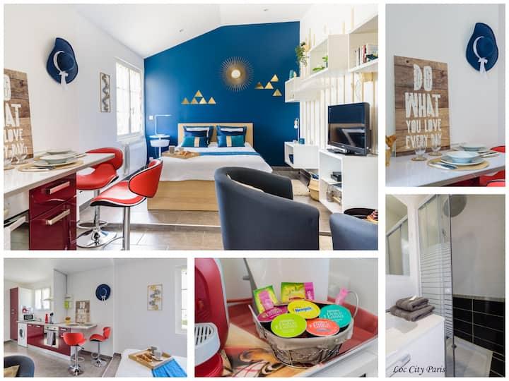 Charmant Studio ¤¤ proche CDG ¤¤ Villepinte ¤¤ Asterix