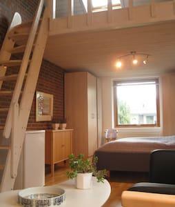 Stort lyst værelse med hems