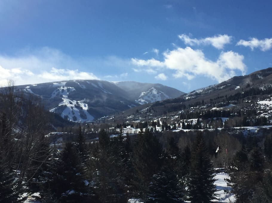 Another view from the Balcony of the Beaver Creek Ski Resort