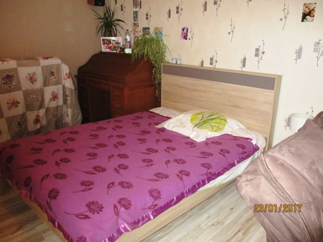 chambre spacieuse - Chemilly - Bed & Breakfast
