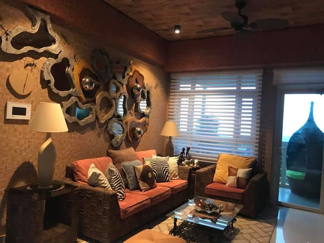 country style interior design , relaxing place