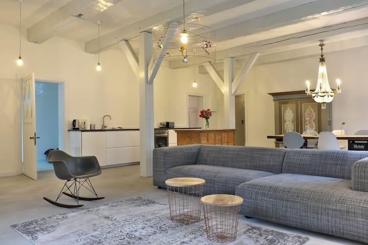 nordsee.estate - NordseeLoft unter Reet mit Sauna
