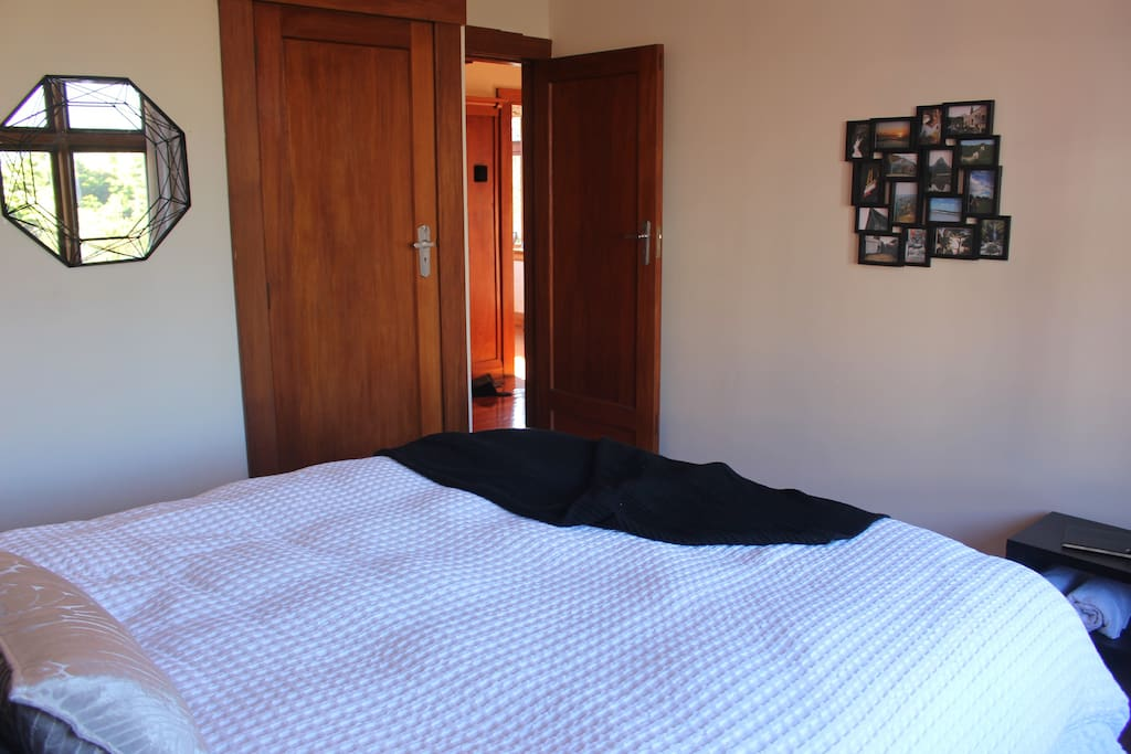 Your room includes a wardrobe, hangers, fresh towels and local guides.
