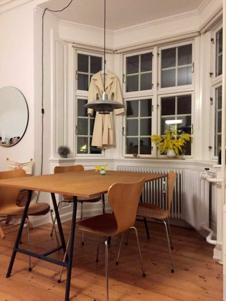 idyllic secluded apartment in beautiful Copenhagen