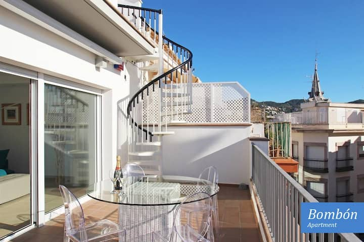 Exclusive Penthouse in the very heart of Sitges