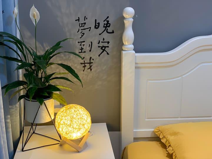 【麦若】自助入住/大美富平/陶艺村/晚安~好梦