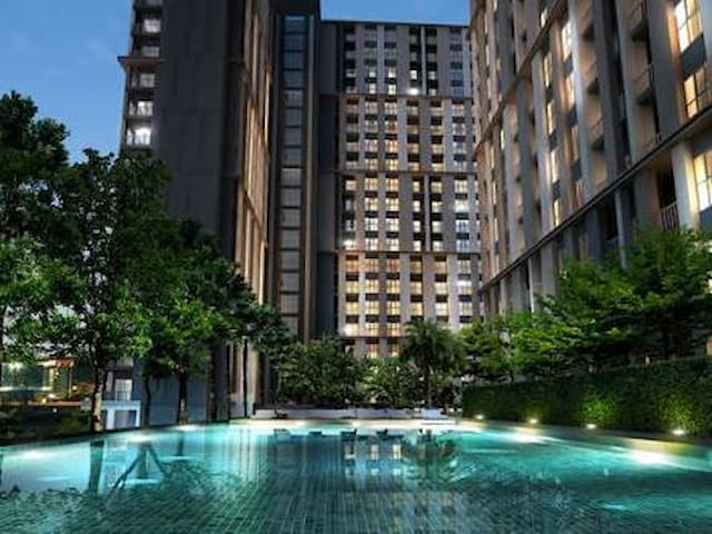 1BR in LuxuryCondo,nearDMK Airport - Pak Kret - Ortak mülk