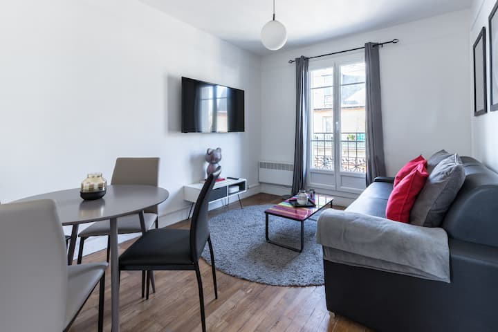Villiers/Château: Cosy Appartment 4P-1BR