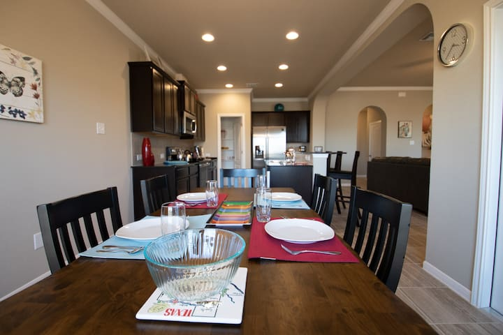 Red River House - new house, relaxed living