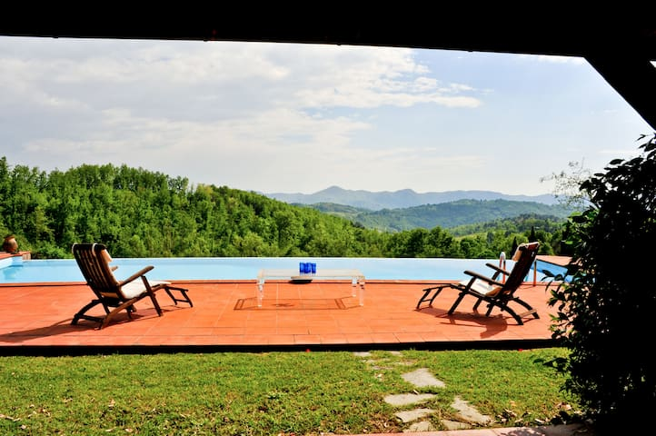 Private Villa in Tuscany : Pool close Cinque Terre