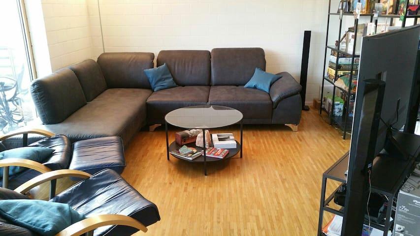 Ein Zimmer im Zentrum der Schweiz - Niederlenz - Apartment