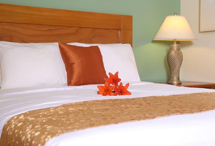 Bedroom 1 - Queen size bed