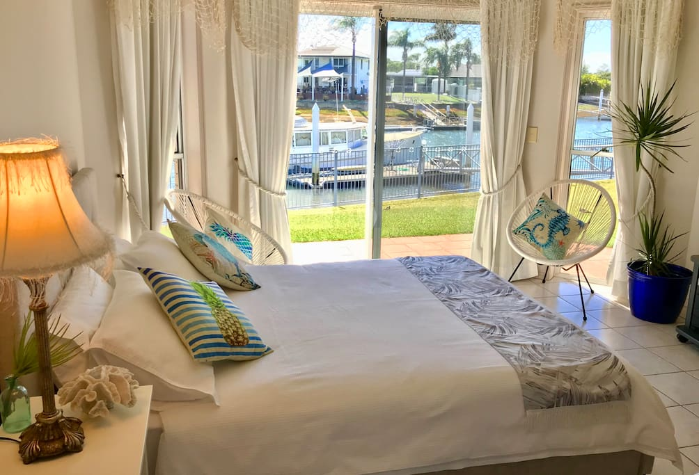 Guests can choose bed configuration prior to booking. Standard setup is a Queen Sized bed but we can add an extra Single Bed if required.