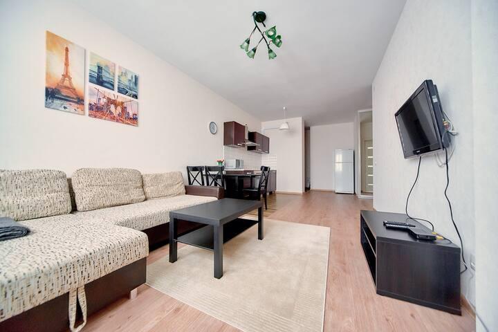 Новая 2-х комнатная квартира на м. Грушевка