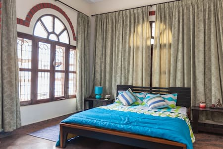 Master Bedroom with Balcony  in a Boutique Villa - Bangalore