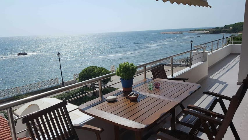 Appartment with view the big blue of Ionian sea!!! - Preveza - Pis