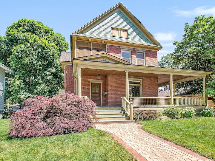 Stunning Downtown Holland Historic District Home