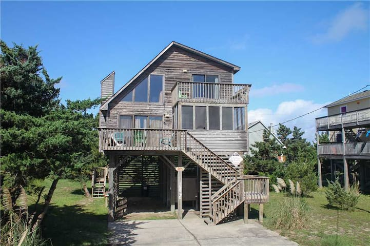 Oceanside in Avon w/Screened porch, PetFriendly