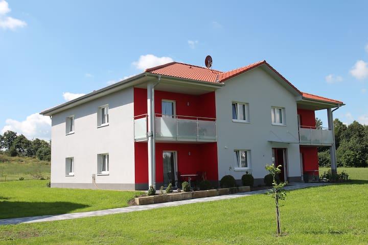 Idyllisch auf dem Lande - Oberdachstetten - Hotellipalvelut tarjoava huoneisto