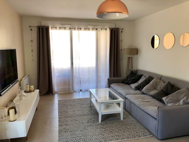 Bel appartement T3 tout équipé Aix en Provence