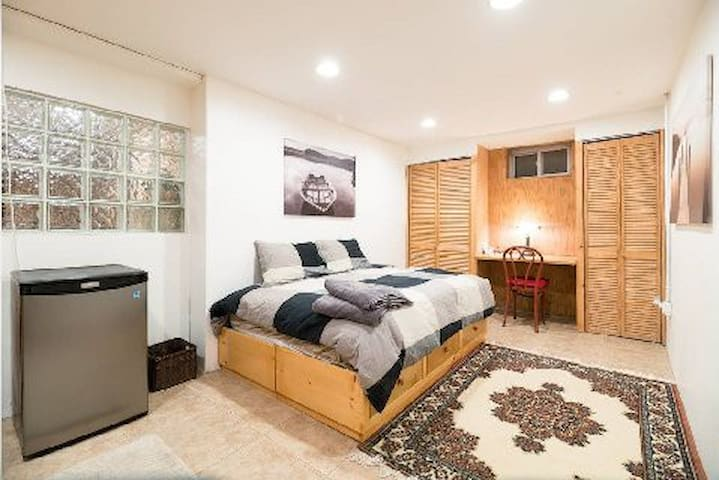 lower level space  BEDROOM