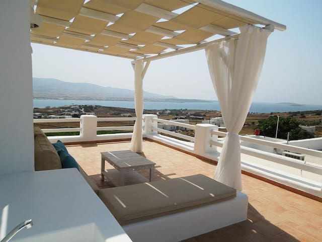 A house with stunning sea view - Antiparos - Casa
