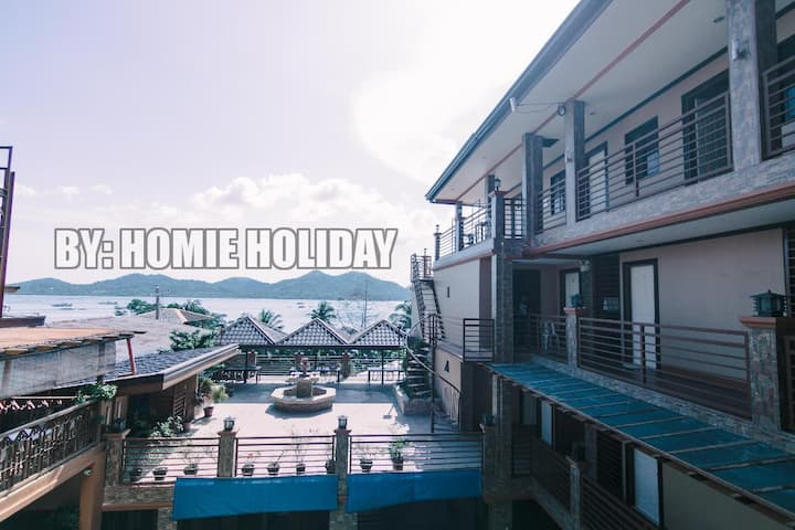 Deluxe Triple Room Coron Center w/Pool&Breakfast