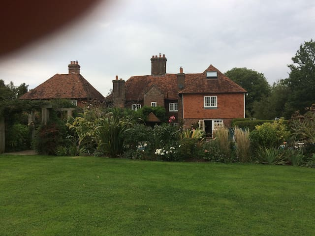 Large 15th Century Farmhouse in East Sussex