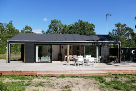 Brand new luxury summerhouse near forest and beach