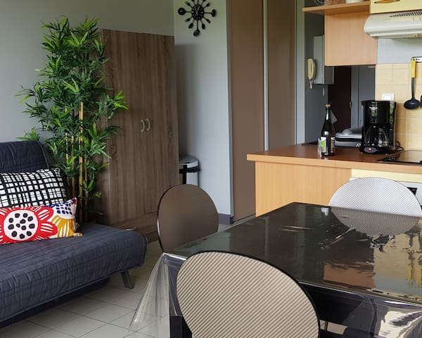 Appartement Dinard 200m plage avec petite vue mer