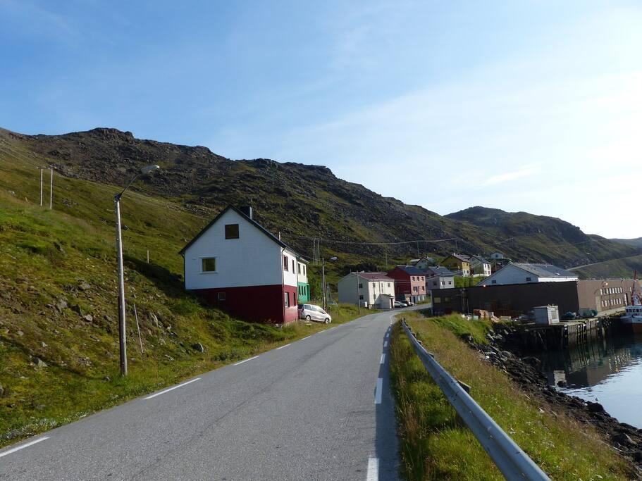 Vorort von Kamøyvaer