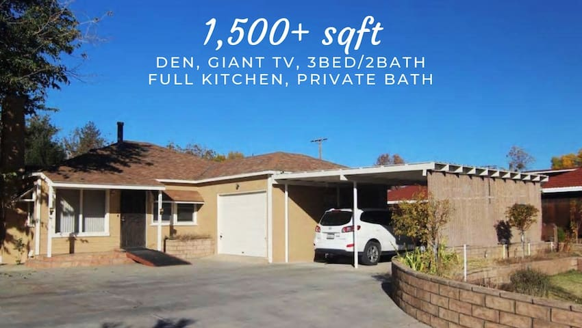 *SANITIZED*3Br2Ba Ultra Basecamp! 30AMP RV Hookups