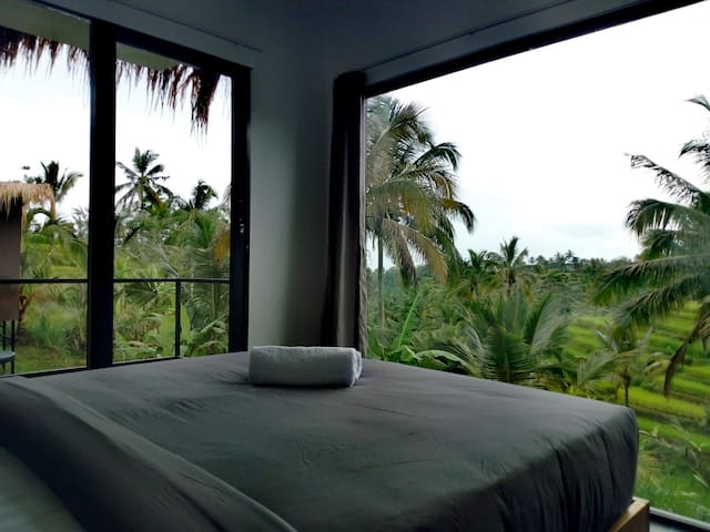 Bali Jatiluwih Angsri room with hot spring tub #2