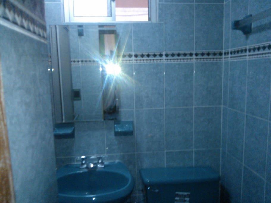 baño recien remodelado