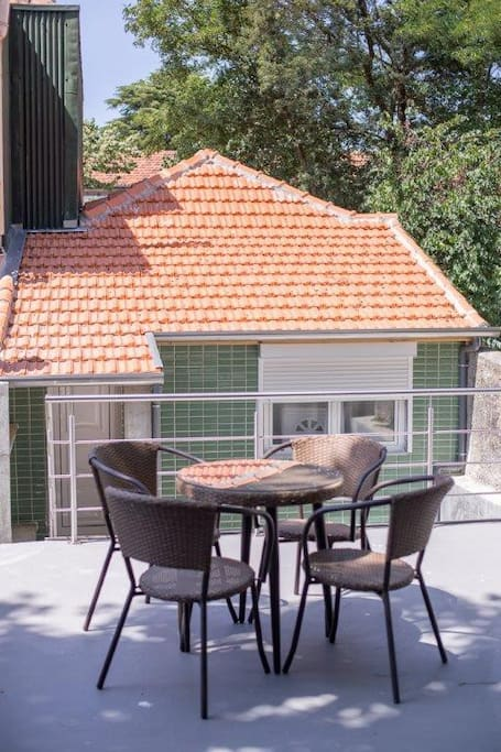 outside view/terrace