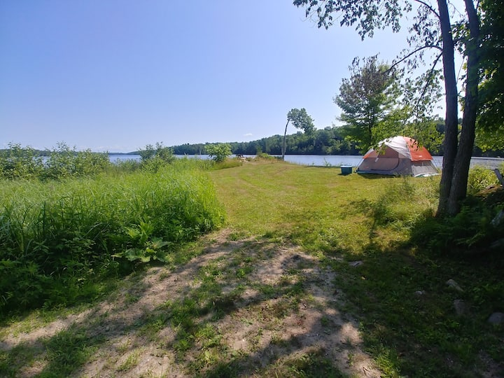 Saw mill point camp site