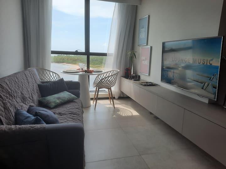 Flat Beach Paiva próx Porto d Galinhas. Aparthotel