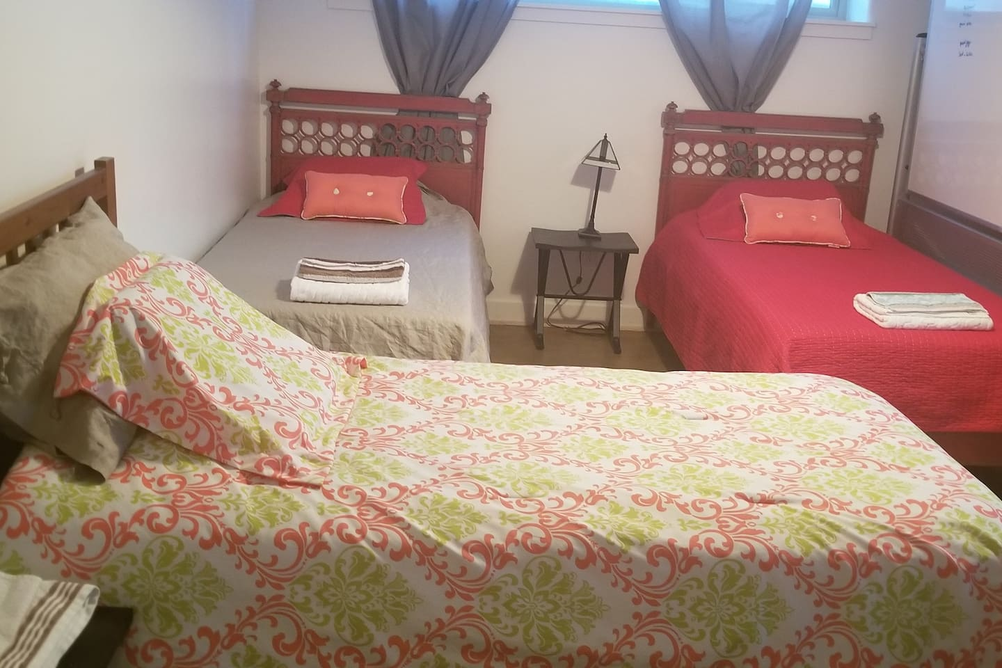 This since the 24th at 7am mst this is available, this could be a share bedroom-share bath for $50/night for 1 person in a single bed or a private bedroom for 2 friends or one individual $155 for 2 of one. I reserve the right to remove unused beds