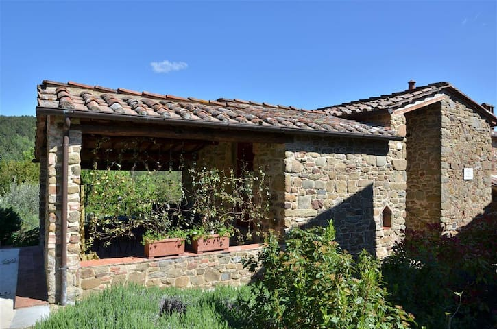 Little Paradise in Chianti 15 km from Gaiole - Gaiole in Chianti  - Huis