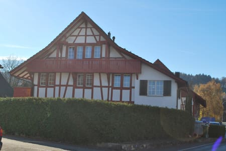 grosse 1,5 Dachwohnung mit Galerie - Stadel bei Niederglatt - Lejlighed