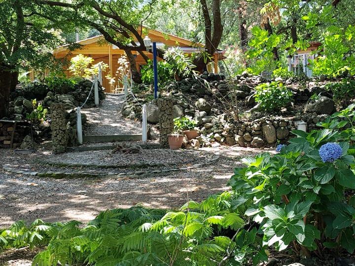 Nature Eco-Wooden Lodge on Samothrace Island
