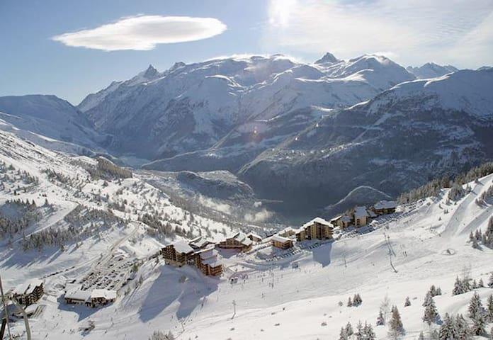 Auris Alpes T2 pied des pistes ski RDC - Auris