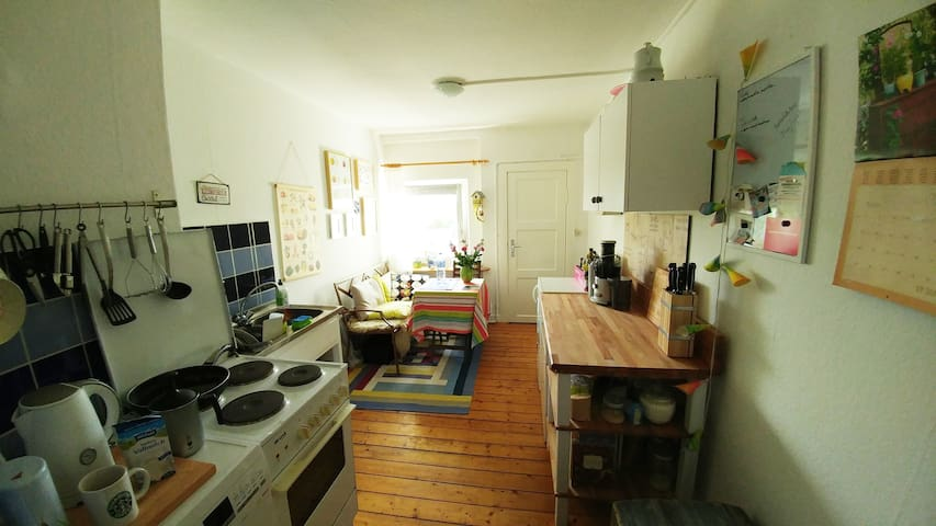 Ruhig und zentral gelegen in Hamburg-Harburg - Hamburgo - Apartamento