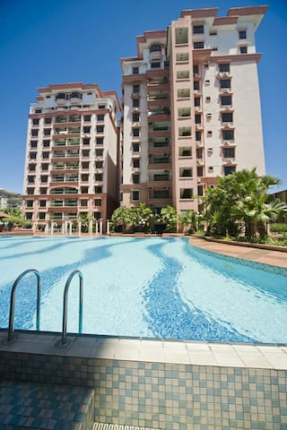 为您提供居家般的舒适服务,让您有回家的感觉. Room 2 - Kota Kinabalu - Apartemen